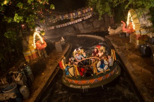 Kali River Rapids at Disney's Animal Kingdom at NIght