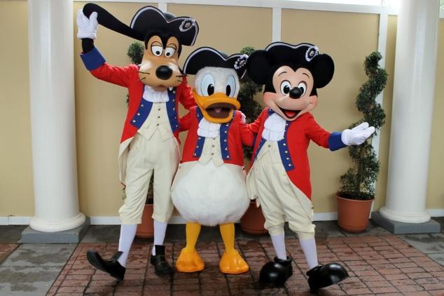 Goofy Donald Mickey Epcot.jpg