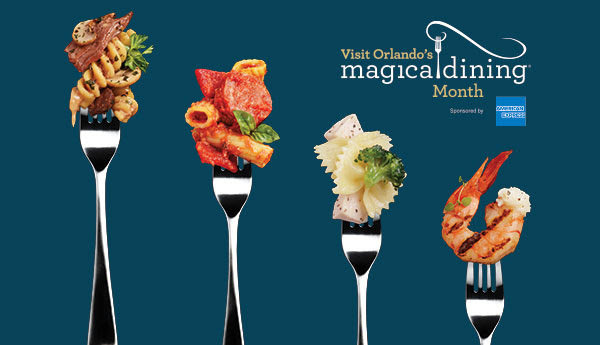 Visit Orlando Magical Dining Month 2018