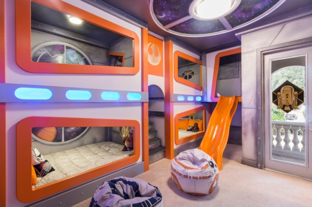 Space Bedroom Vacation Home room