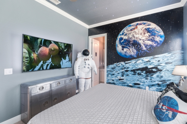 Themed Space Bedroom in Reunion Resort vacation home rental